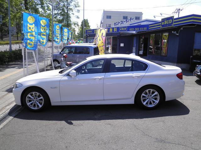 BMW BMW 523i ハイラインパッケージ ワンオーナー 黒革 ナビTV