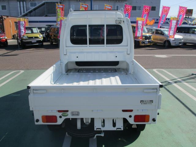 スーパーキャリイ X 5MT 4WD リクライニング可能(6枚目)