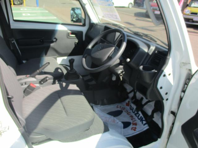 スーパーキャリイ X 5MT 4WD リクライニング可能(9枚目)