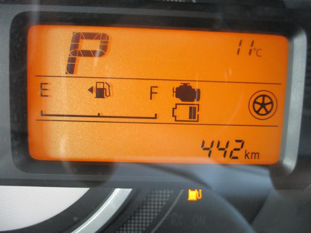 お車の走行距離は、442km走っています!!