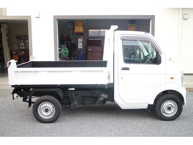 ダンプ AC・PS・MT・ETC・純正ラジオ・切替式4WD(15枚目)