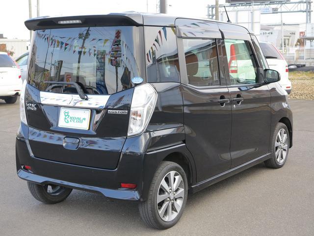 「三菱」「eKスペースカスタム」「コンパクトカー」「宮城県」の中古車6