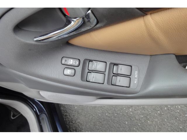 トヨタ アリスト V300ウォールナットP 茶革 車高調
