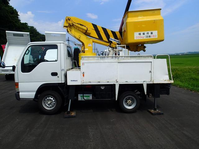 いすゞ エルフトラック 高所作業車 8m