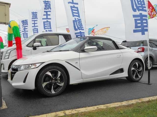 「ホンダ」「S660」「オープンカー」「山形県」の中古車3