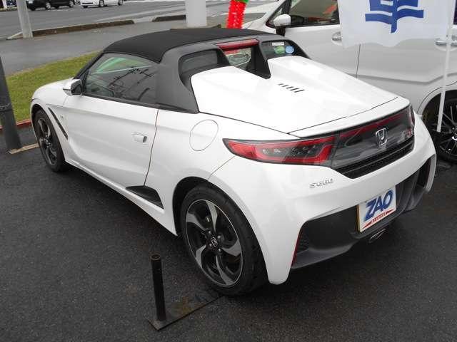 「ホンダ」「S660」「オープンカー」「山形県」の中古車4
