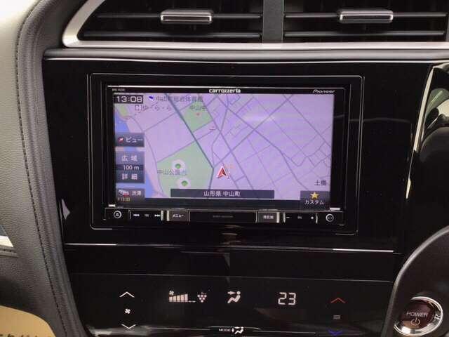 ハイブリッドX 衝突被害軽減ブレーキ ナビ ETC LEDヘッド ナビTV リヤカメラ VSA クルコン スマートキー ETC メモリーナビ ワンセグ キーレス CD オートエアコン 盗難防止システム ABS(5枚目)