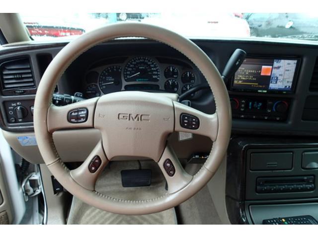 GMC GMC ユーコン デナリXL 4WD 新車並行 社外ナビ マフラー 実走行