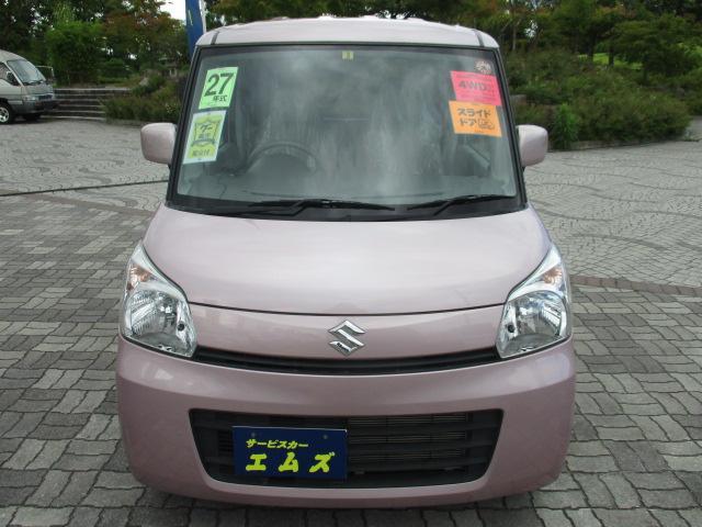 G 4WD CDデッキ シートヒーター スマートキー ETC(3枚目)