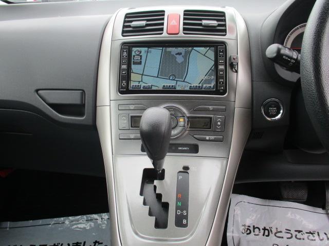 トヨタ オーリス 150X Mパッケージ フルセグTV・HDDナビ