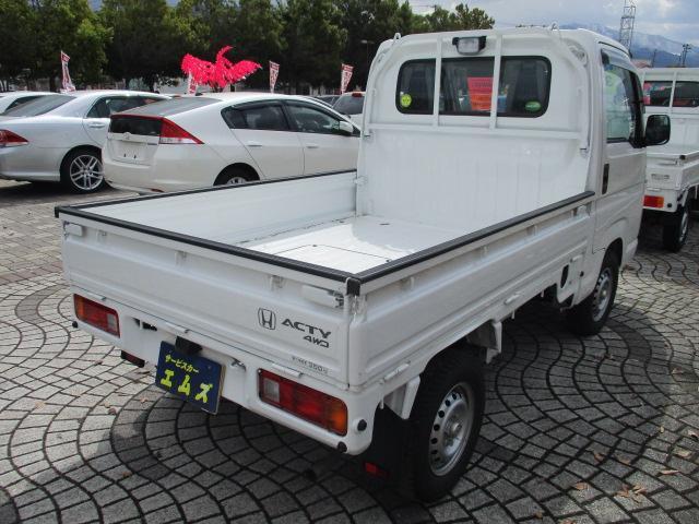 アタック 4WD 5MA エアコン パワステ ラジオ(4枚目)