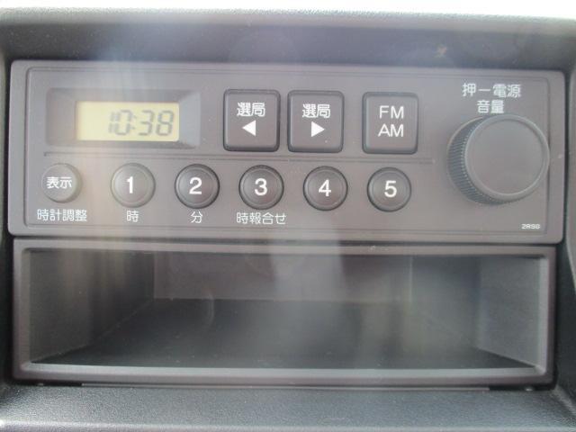 アタック 4WD 5MA エアコン パワステ ラジオ(11枚目)