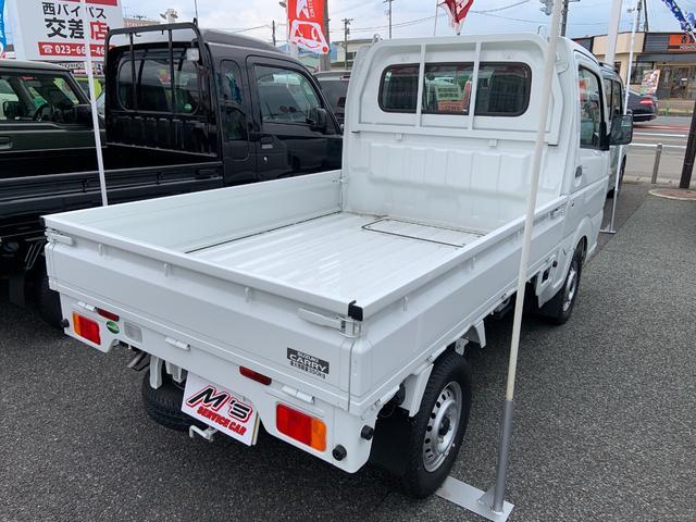 KCエアコン・パワステ 4WD 届出済未使用車 エアコン パワステ Wエアバッグ ABS ラジオ(5枚目)