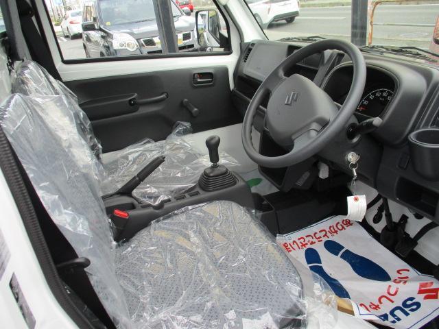 KCエアコン・パワステ 4WD 届出済未使用車 エアコン パワステ Wエアバッグ ABS ラジオ(9枚目)