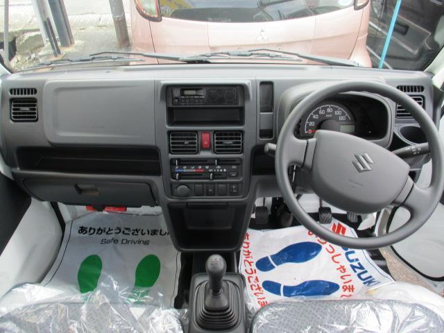 KCエアコン・パワステ 4WD 届出済未使用車 エアコン パワステ Wエアバッグ ABS ラジオ(16枚目)