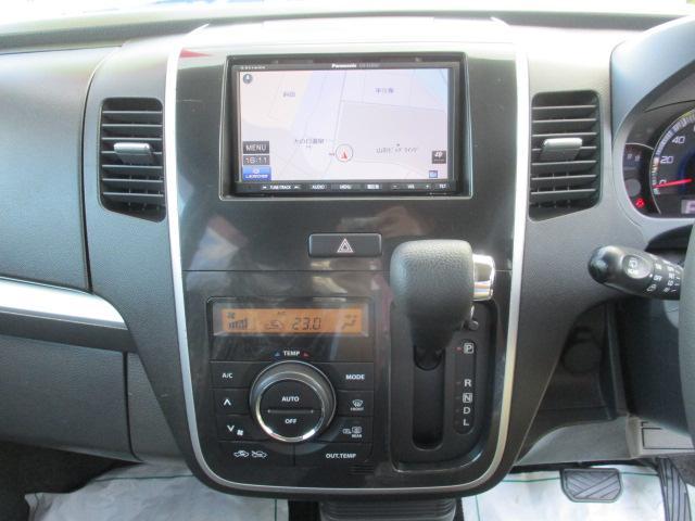 リミテッドII 4WD ワンセグTV・メモリーナビ 純正15インチアルミ シートヒーター オートライト イルミネーション プッシュスタート スマートキー HIDヘッドランプ(10枚目)