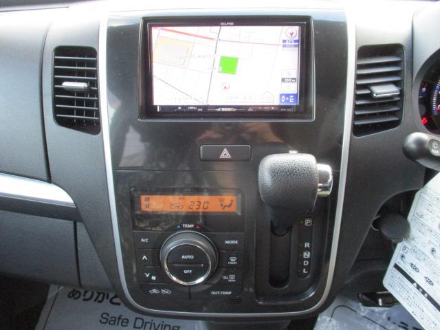 X 4WD フルセグTV・SDナビ ETC 純正14インチアルミ シートヒーター HIDヘッドライト プッシュスタート スマートキー エンジンスターター(10枚目)