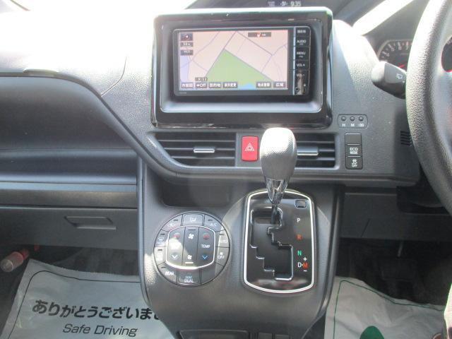 X 7人乗り・3列シート ワンセグTV・SDナビ バックカメラ ETC 社外15インチアルミ 左側電動スライドドア オートライト ステアリングリモコン アイドリングストップ キーレス 横滑り防止装置(10枚目)