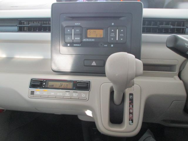 ハイブリッドFX 4WD ワンオーナー CDデッキ 衝突被害軽減ブレーキ レーンアシスト アイドリングストップ ヘッドアップディスプレイ オートライト AUX接続 プッシュスタート スマートキー(10枚目)