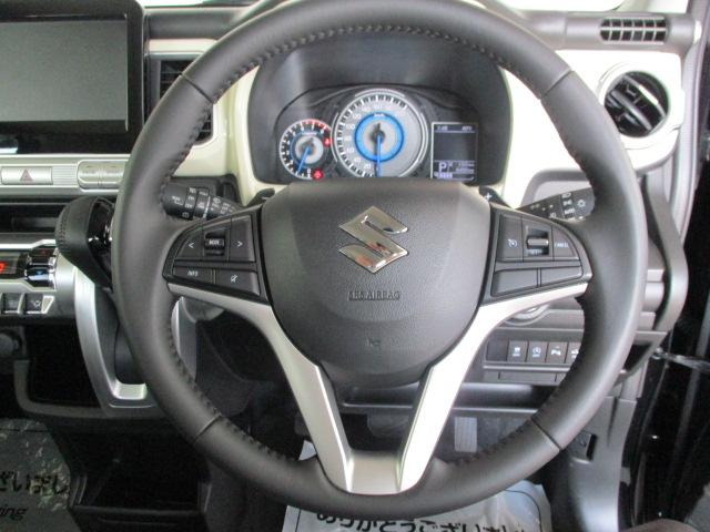 ハイブリッドMZ 4WD 純正16インチアルミ LEDヘッドライト クリアランスソナー クルーズコントロール プッシュスタート オートライト 衝突被害軽減ブレーキ ダウンフルアシスト スノーモード スポーツモード(21枚目)