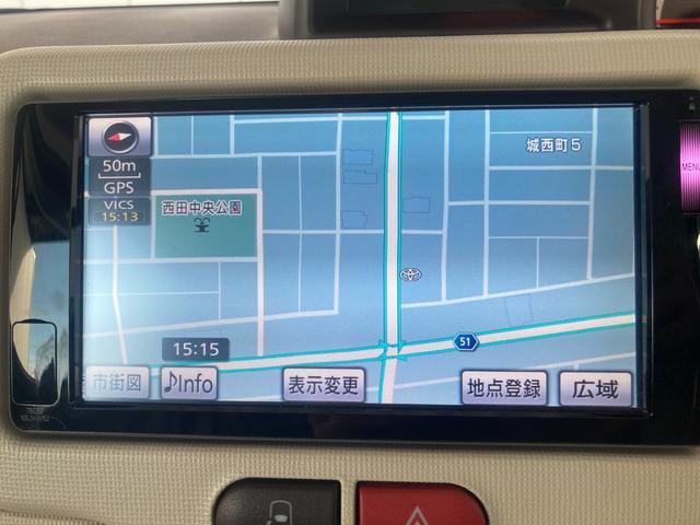 G 4WD 左側電動スライドドア SDナビ フルセグTV バックカメラ ETC 社外15AW プッシュスタート シートヒーター オートライト HDMI接続可 HIDライト イモビライザー有(11枚目)
