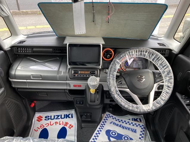 ハイブリッドXZ 4WD ETC 両側電動スライドドア スマートキー クルコン ベンチシート 届出済未使用車 スズキセーフティサポート LEDヘッドライト シートヒーター(2枚目)