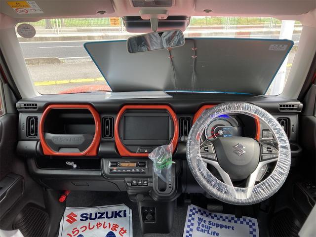 ハイブリッドGターボ 4WD 届出済未使用車 スズキセーフティサポート ターボ(2枚目)
