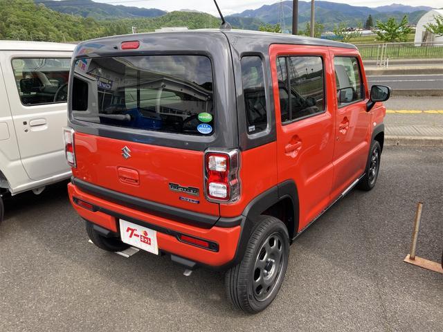 ハイブリッドGターボ 4WD 届出済未使用車 スズキセーフティサポート ターボ(12枚目)