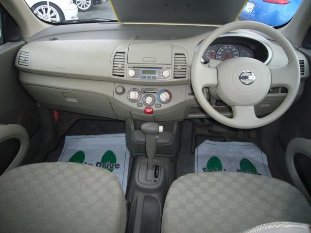 日産 マーチ 14e-four インテリキー 純正CD 4WD