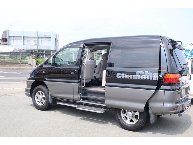三菱 デリカスペースギア シャモニー ハイルーフ 社外SDナビ 寒冷地仕様 切替4WD