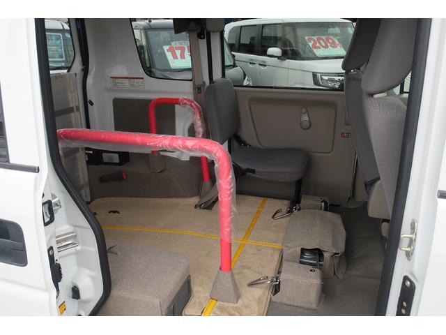 車いす移動車 電動固定装置 スローパー 切替4WD(20枚目)