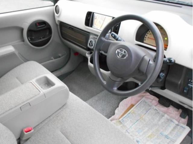 トヨタ パッソ 4WD X ユルリ 地デジナビTV Bモニター ETC