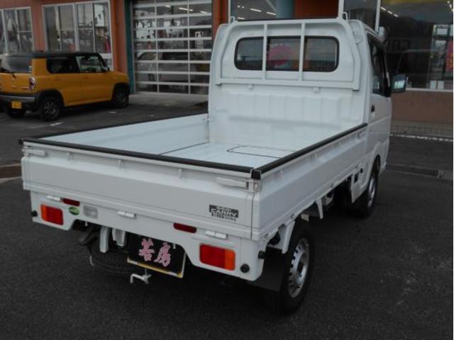 4WD KCエアコン・パワステ 5速マニュアル車(5枚目)