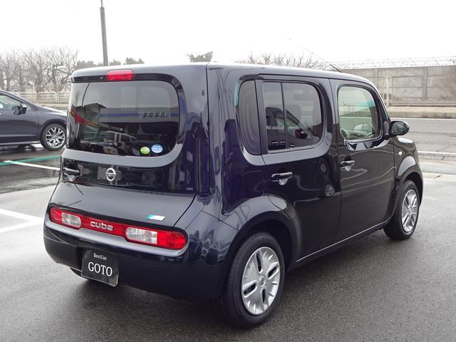 日産 キューブ 15X FOUR Vセレクション 4WD ナビTV ETC
