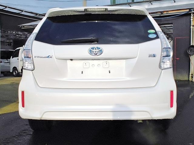 トヨタ プリウスアルファ G HV S-VSC LEDヘッドランプ フルエアロ