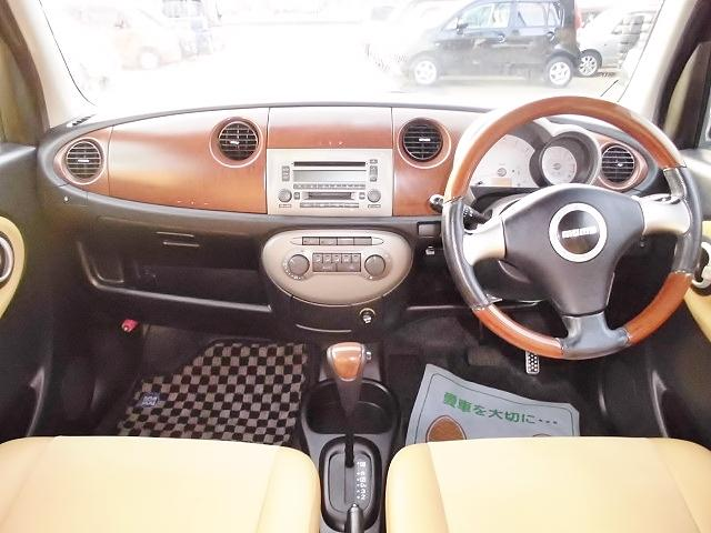 ダイハツ ミラジーノ プレミアムX 4WD ABS レザーシート ミニライトAW