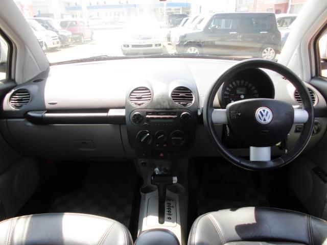 フォルクスワーゲン VW ニュービートル プラス  SRS レザーシート SR