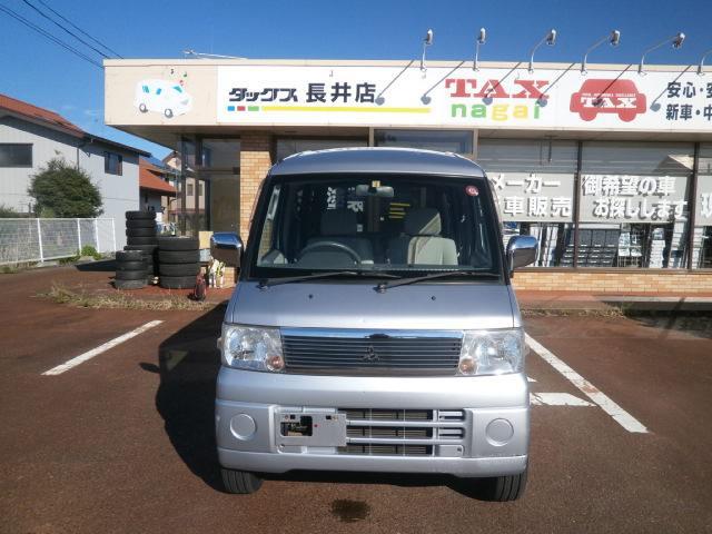 三菱 タウンボックス LXハイルーフ4WD1年走行無制限保障