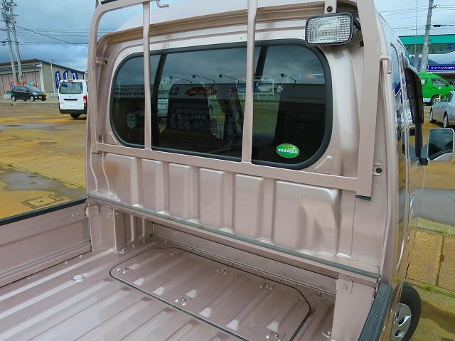 荷台前方のスペース 荷台ランプ