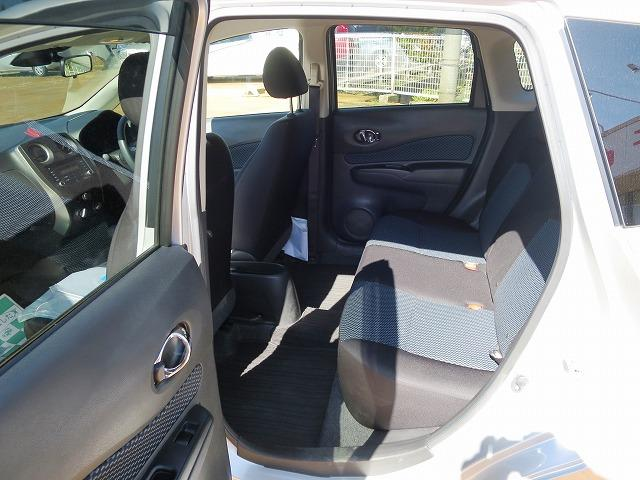 日産 ノート X 2WD プッシュスタート ブレーキサポート