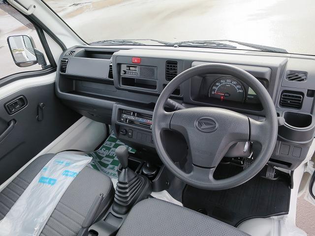 スタンダード 4WD フロア5MT パワステエアコン オートライト 届出済未使用車(9枚目)