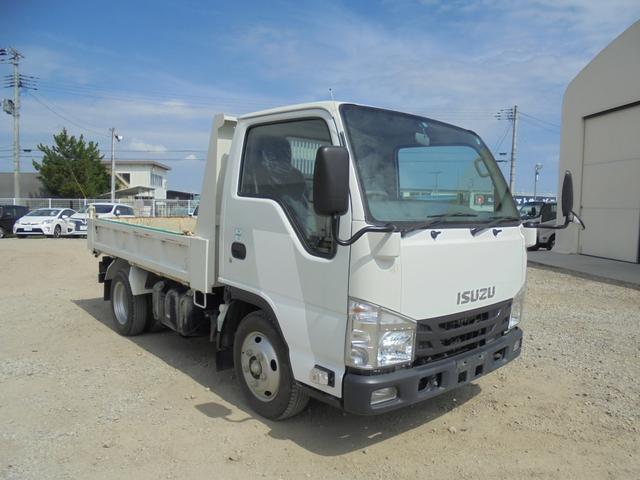 いすゞ エルフトラック 2tダンプ 手動シート TPG-NJR85AD