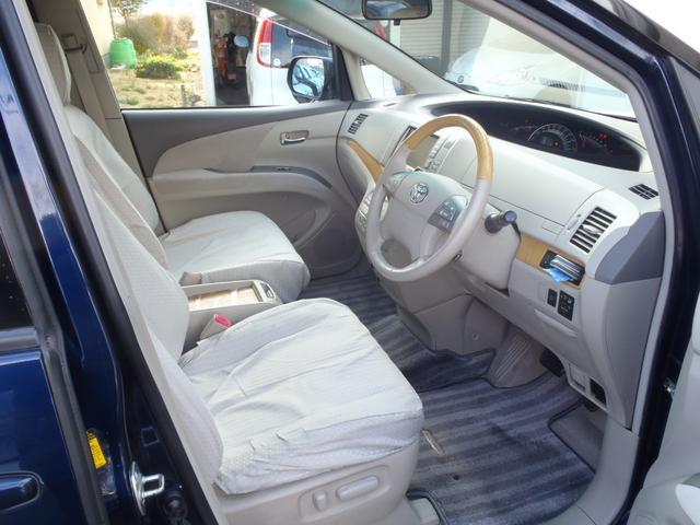 トヨタ エスティマ G 4WD 純正HDDナビ 純正アルミ