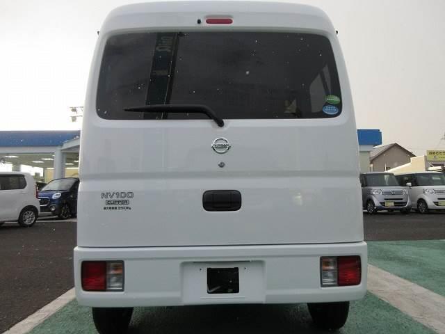 日産 NV100クリッパーバン DX GLパッケージ 4WD