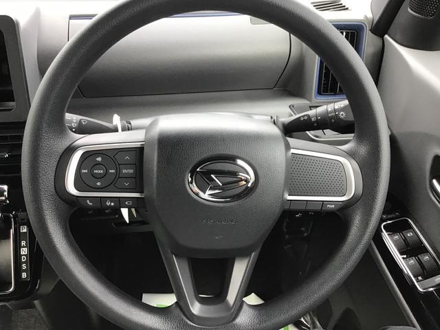 カスタムXセレクション 届出済未仕様車 特別仕様車 2WD 両側パワースライドドア シートヒーター 格納式シートバックテーブル LEDヘッドライト LEDフォグランプ スマートアシスト コーナーセンサー 14インチアルミ(10枚目)