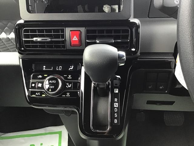 カスタムXセレクション 届出済未仕様車 特別仕様車 2WD 両側パワースライドドア シートヒーター 格納式シートバックテーブル LEDヘッドライト LEDフォグランプ スマートアシスト コーナーセンサー 14インチアルミ(11枚目)