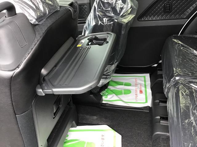 カスタムXセレクション 届出済未仕様車 特別仕様車 2WD 両側パワースライドドア シートヒーター 格納式シートバックテーブル LEDヘッドライト LEDフォグランプ スマートアシスト コーナーセンサー 14インチアルミ(25枚目)