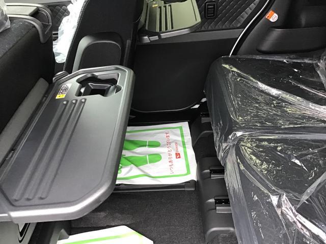 カスタムXセレクション 届出済未仕様車 特別仕様車 2WD 両側パワースライドドア シートヒーター 格納式シートバックテーブル LEDヘッドライト LEDフォグランプ スマートアシスト コーナーセンサー 14インチアルミ(26枚目)