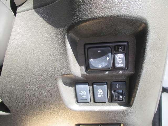 アイドリングストップや、横滑り防止装置など、運転をサポートしてくれる機能も付いています。