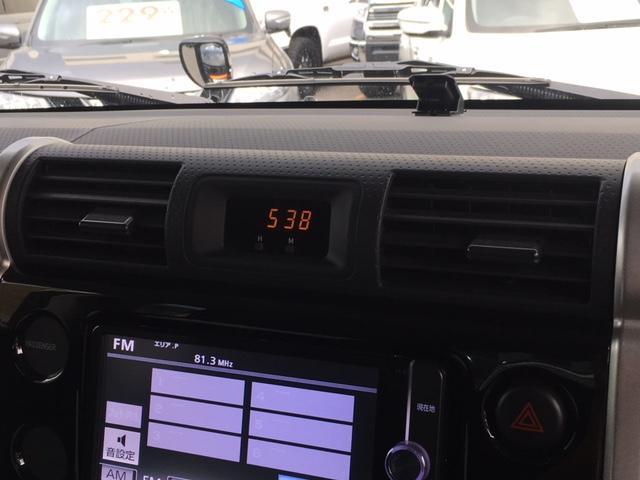 トヨタ FJクルーザー ベースグレード ワンオーナー 純正ナビ クルーズコントロール